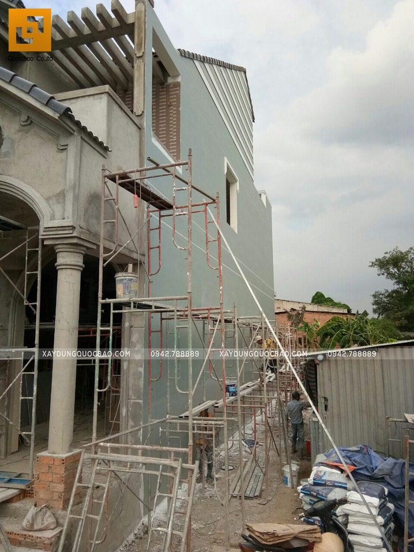 Thi công sơn nước trang trí bên ngoài nhà - Ảnh 1