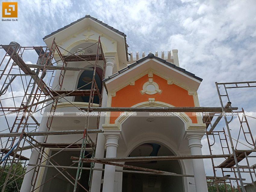 Thi công sơn nước trang trí bên ngoài nhà - Ảnh 3