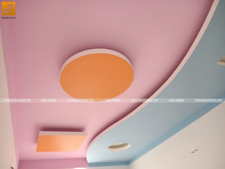 Thi công sơn nước trang trí nội thất - Ảnh 4