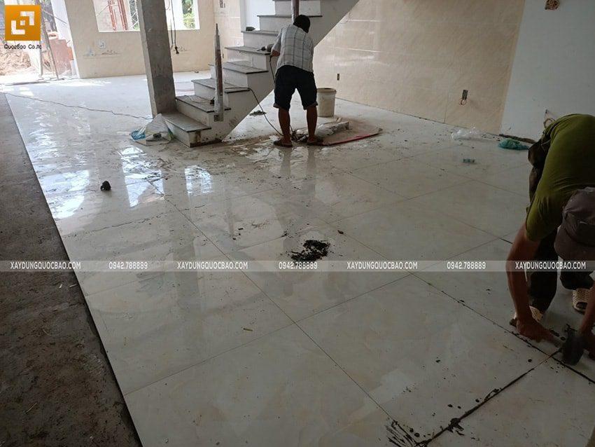Ốp lát gạch nền, tường nhà - Ảnh 2