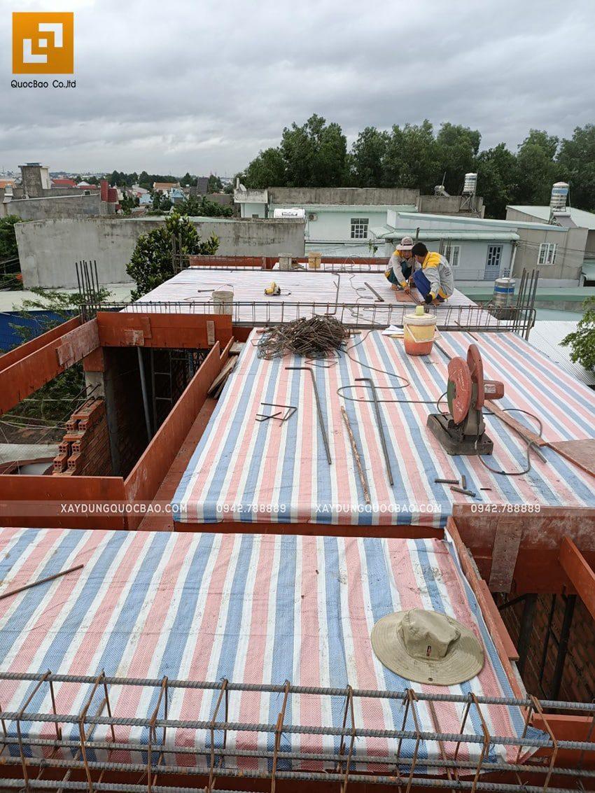 Thi công phần thô nhà 3 tầng tại Biên Hòa - Ảnh 13