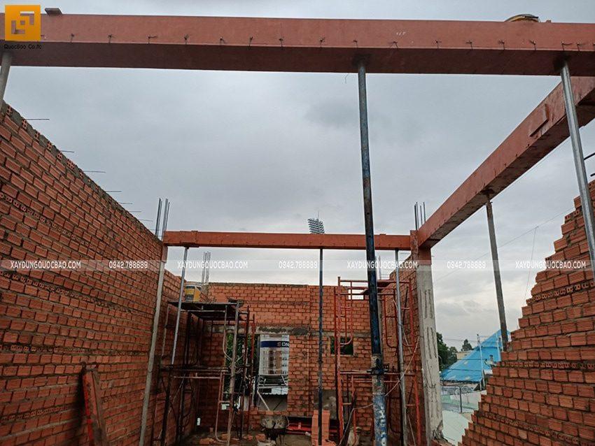 Thi công phần thô nhà 3 tầng tại Biên Hòa - Ảnh 11
