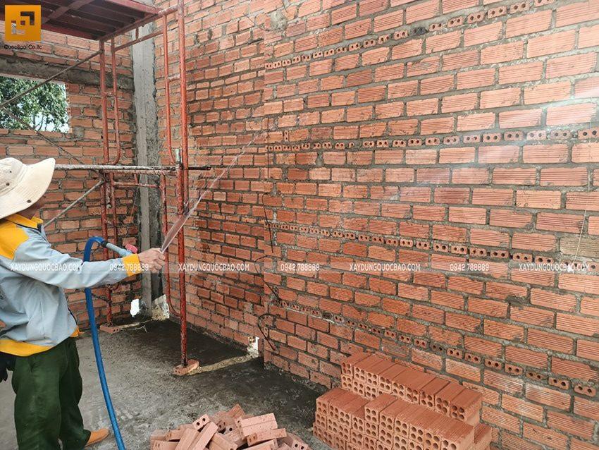 Thi công phần thô nhà 3 tầng tại Biên Hòa - Ảnh 8