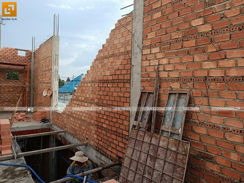 Thi công phần thô nhà 3 tầng tại Biên Hòa - Ảnh 7