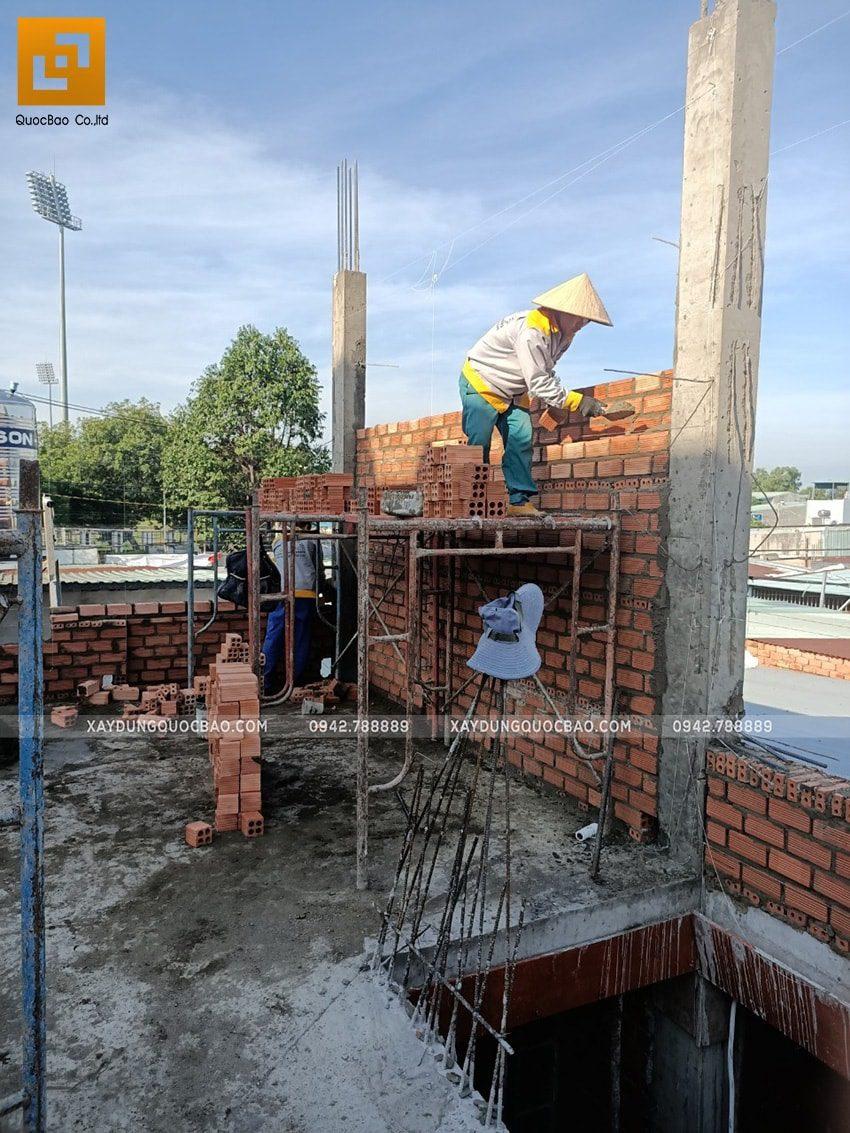Thi công phần thô nhà 3 tầng tại Biên Hòa - Ảnh 6