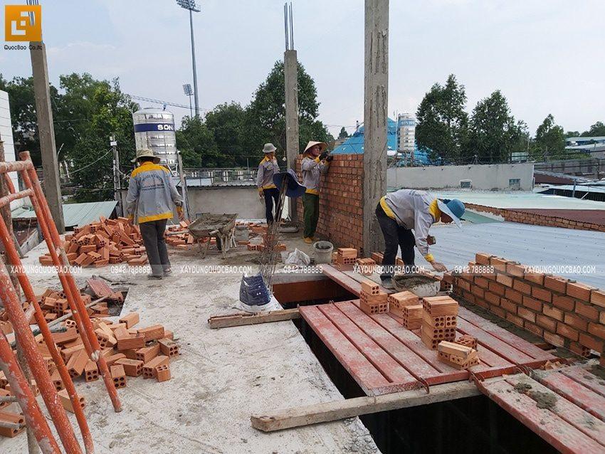 Thi công phần thô nhà 3 tầng tại Biên Hòa - Ảnh 5