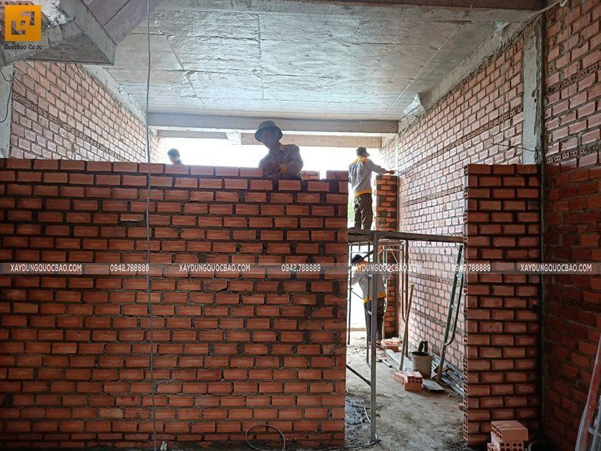 Thi công phần thô nhà 3 tầng tại Biên Hòa - Ảnh 21