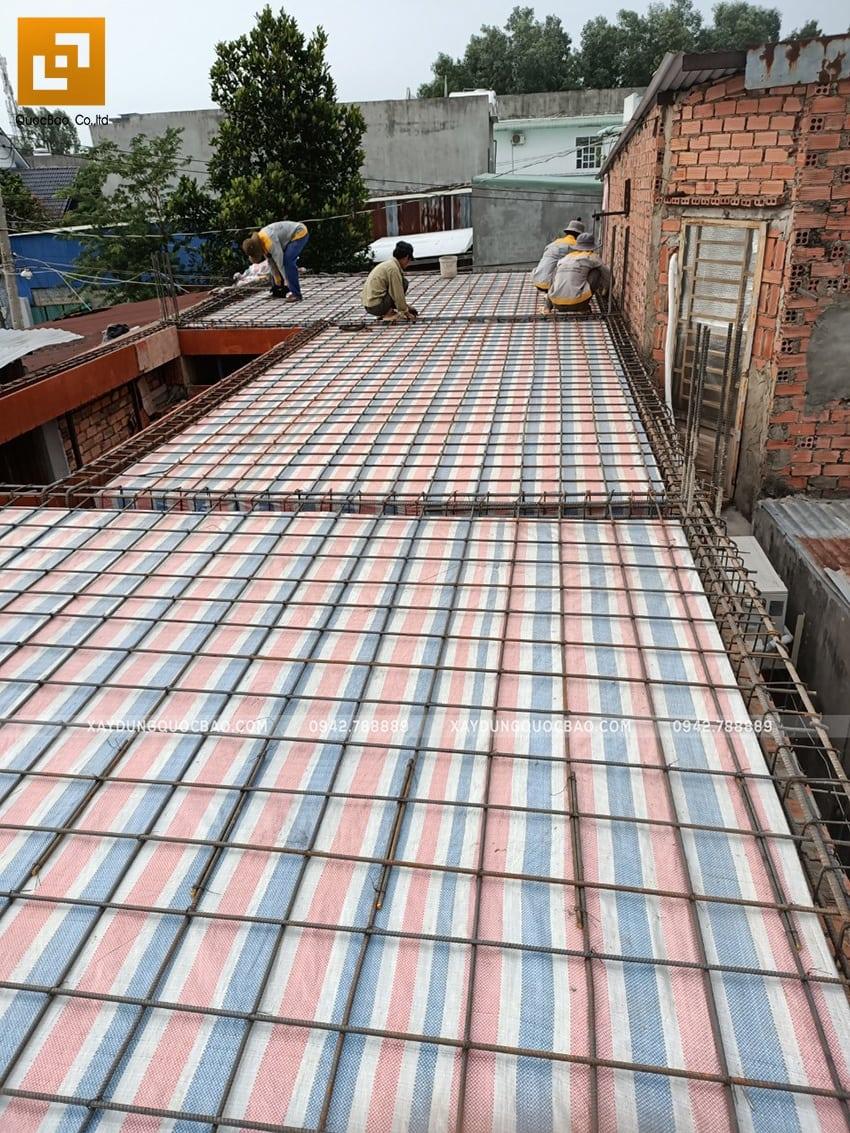 Thi công phần thô nhà 3 tầng tại Biên Hòa - Ảnh 1