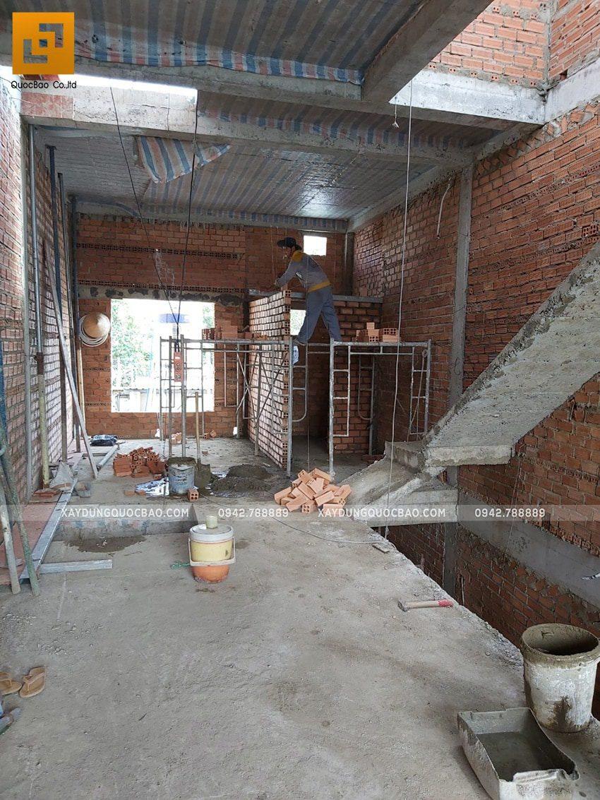 Thi công phần thô nhà 3 tầng tại Biên Hòa - Ảnh 20
