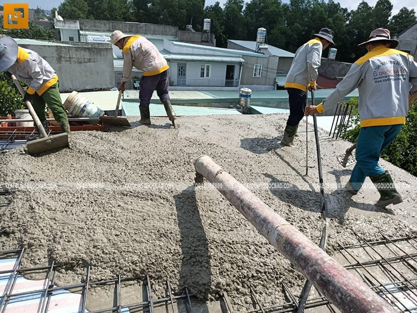 Thi công phần thô nhà 3 tầng tại Biên Hòa - Ảnh 18