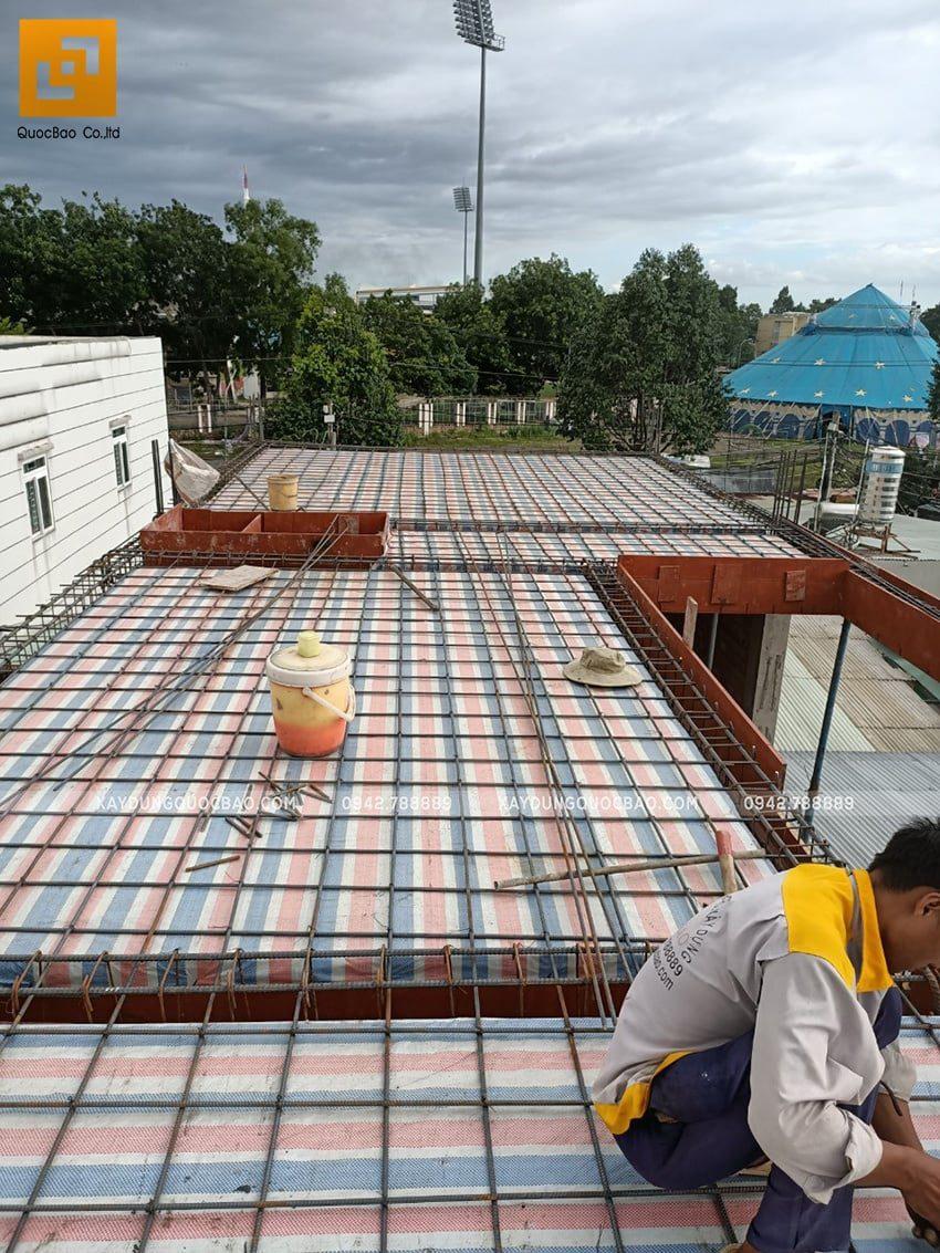 Thi công phần thô nhà 3 tầng tại Biên Hòa - Ảnh 17