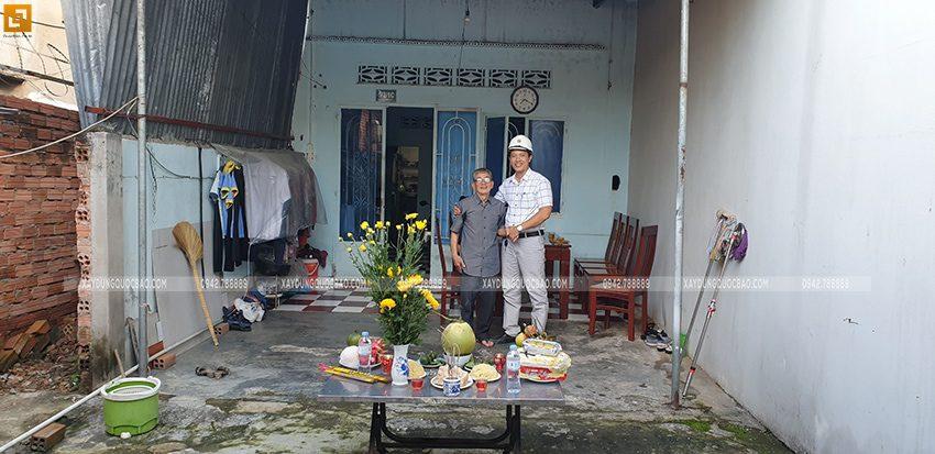 Khởi công nhà mái thái 2 tầng tại Biên Hòa - Ảnh 2