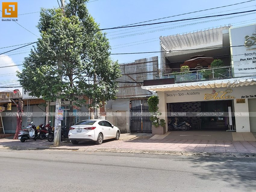 Khởi công nhà mái thái 2 tầng tại Biên Hòa - Ảnh 1
