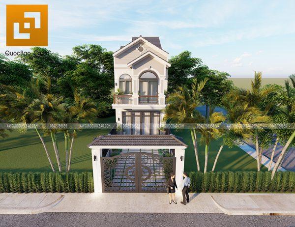 Nhà mái thái 2 tầng có mặt tiền 5m tại Biên Hòa, Đồng Nai