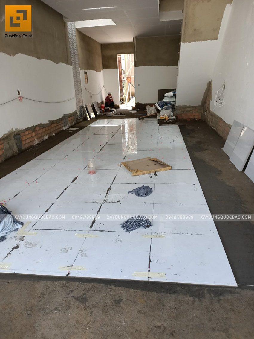 Thi công hoàn thiện nhà 3 tầng - Ảnh 8