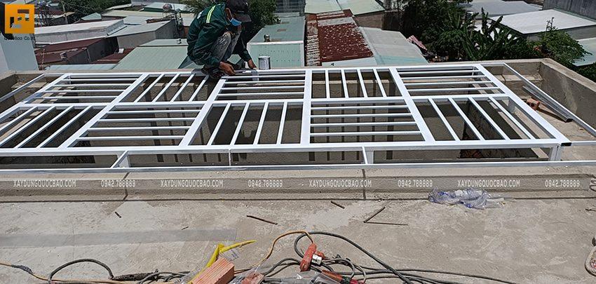Thi công hoàn thiện nhà 3 tầng - Ảnh 4