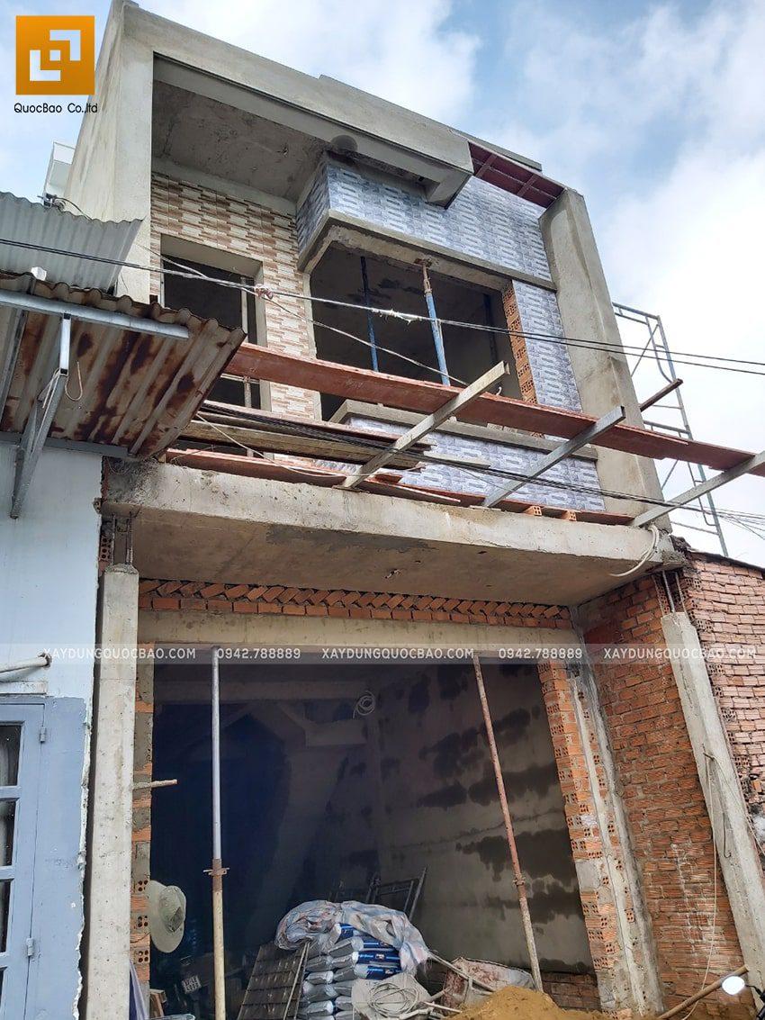 Thi công hoàn thiện nhà 3 tầng - Ảnh 12