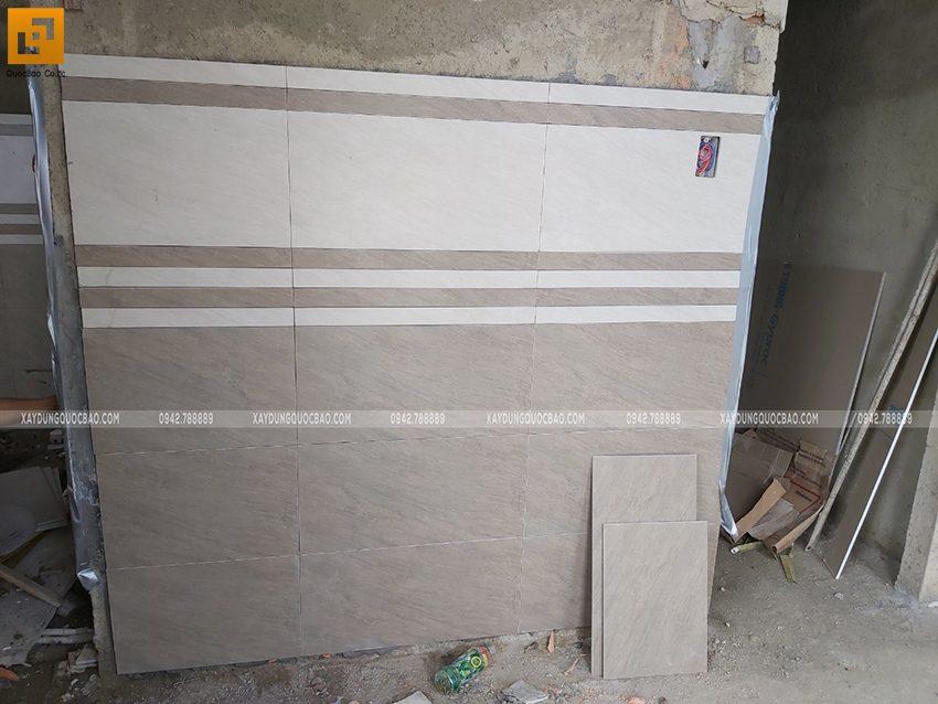 Thi công hoàn thiên nhà 3 tầng của chị Dung - Ảnh 7