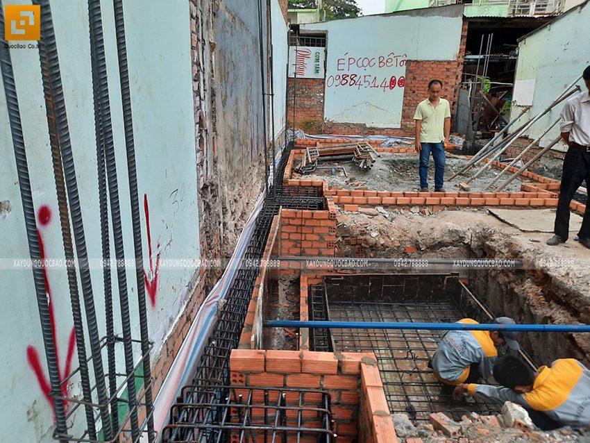 Thi công phần móng nhà và công trình ngầm - Ảnh 13
