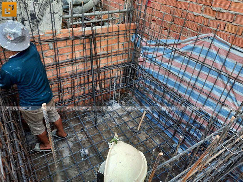 Thi công phần móng nhà và công trình ngầm - Ảnh 11