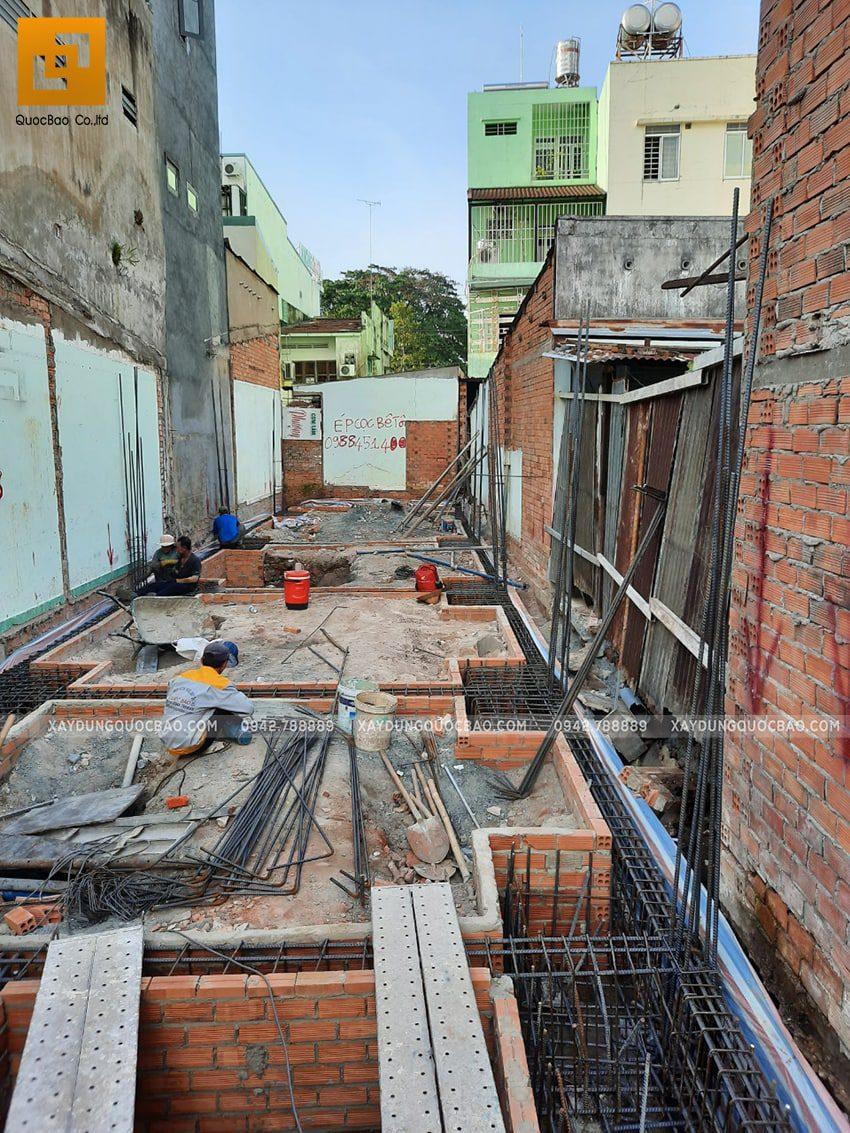 Thi công phần móng nhà và công trình ngầm - Ảnh 10