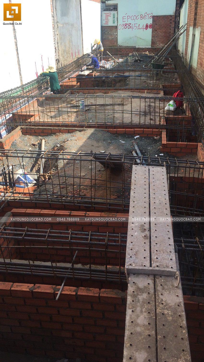 Thi công phần móng nhà và công trình ngầm - Ảnh 8