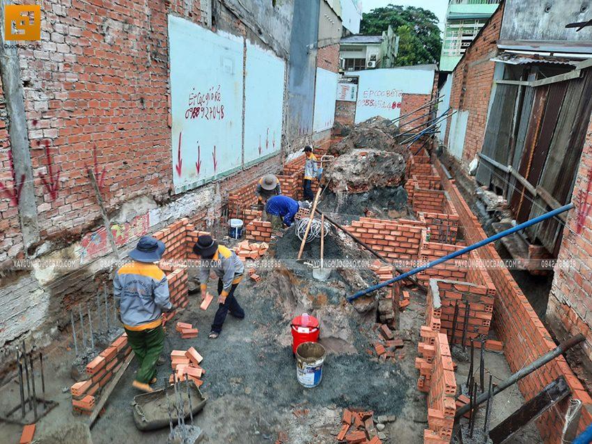 Thi công phần móng nhà và công trình ngầm - Ảnh 7