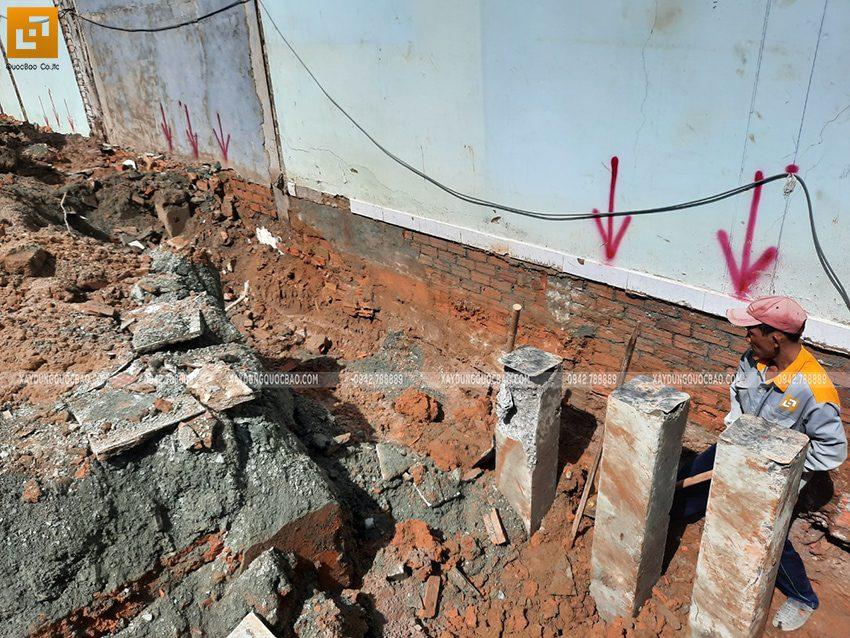Thi công phần móng nhà và công trình ngầm - Ảnh 4