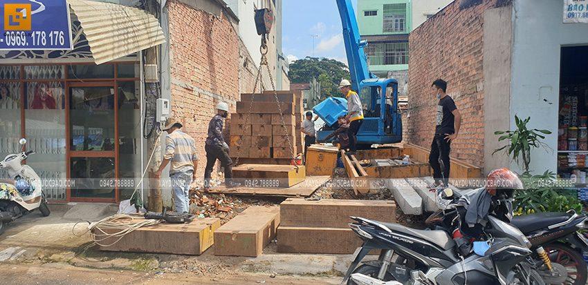 Thi công phần móng nhà và công trình ngầm - Ảnh 3