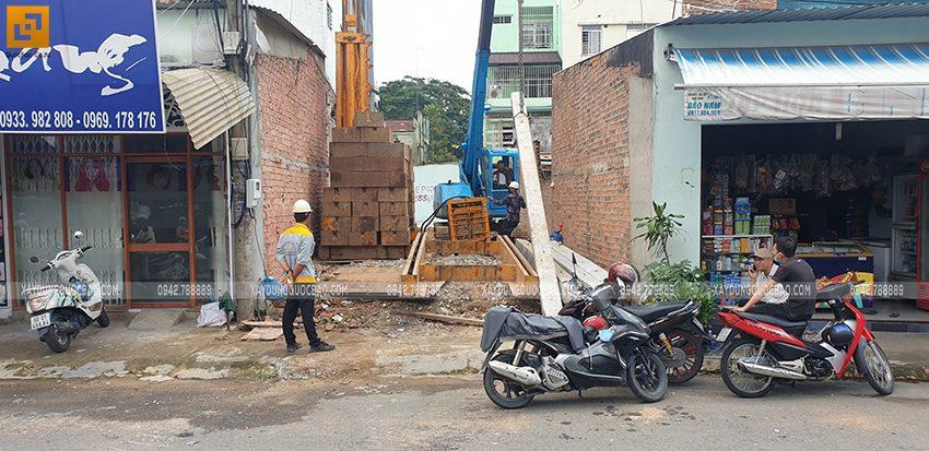 Thi công phần móng nhà và công trình ngầm - Ảnh 2