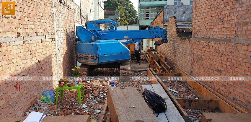 Thi công phần móng nhà và công trình ngầm - Ảnh 1