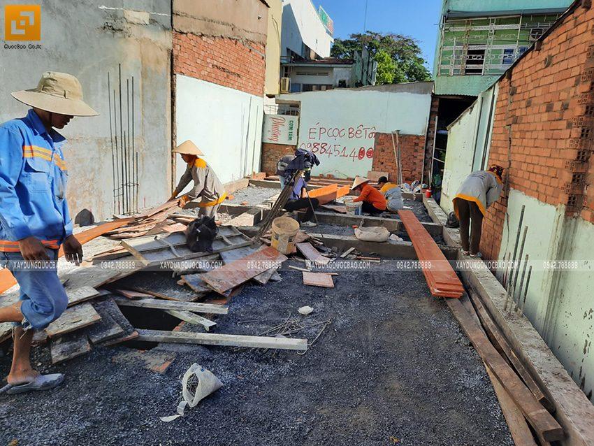 Thi công phần móng nhà và công trình ngầm - Ảnh 17