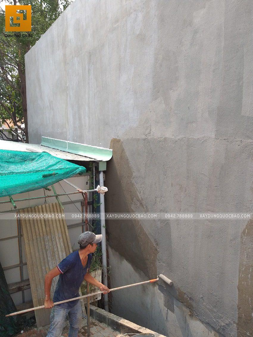 Thi công quán cafe 2 tầng kết cấu thép tại Biên Hòa - Ảnh 14