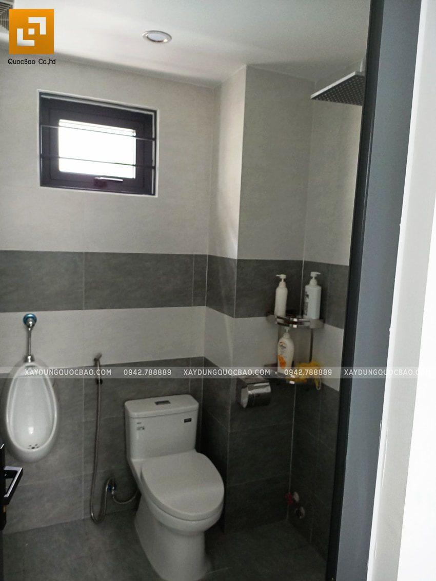 Phòng vệ sinh và nhà tắm tầng trệt
