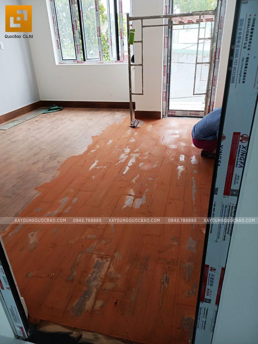 Thi công phần nội thất nhà anh Cường - Ảnh 4