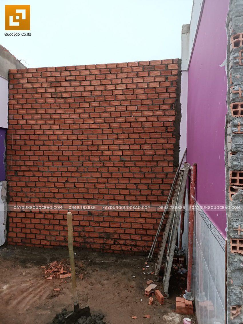 Xây tường ngăn giữa các phòng - Ảnh 2