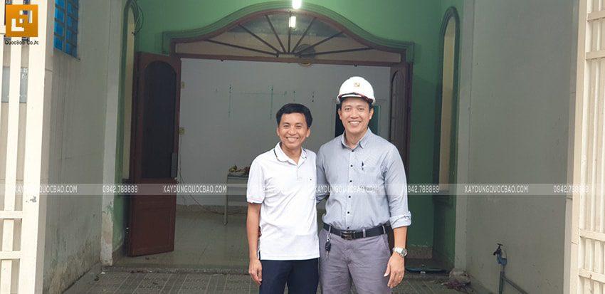 Khởi công nhà mái lệch 2 tầng gia đình anh Huy - Ảnh 3