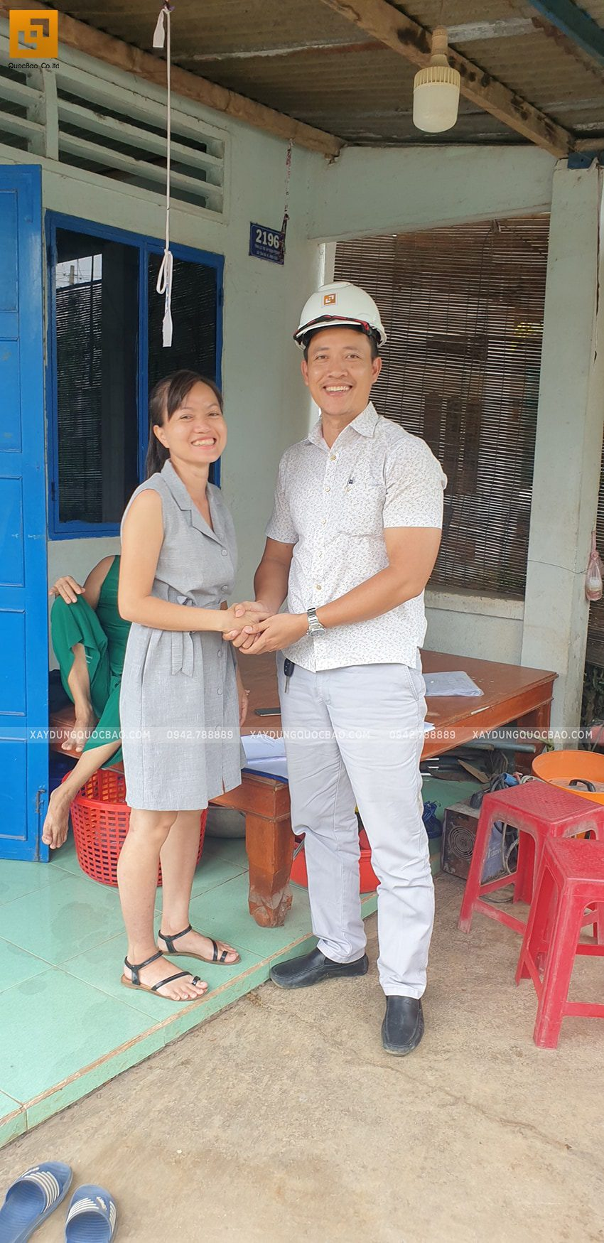 Khởi công nhà 3 tầng chị Thư và anh Trí tại Vĩnh Cửu - Ảnh 5