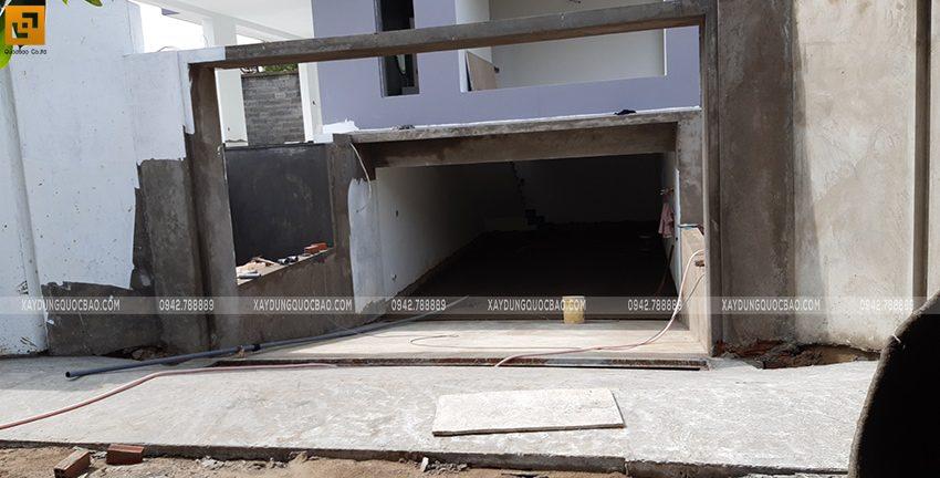Đổ bê tông tầng hầm - Ảnh 3