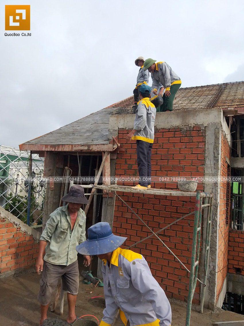 Tiến độ thi công nhà 3 tầng tại Biên Hòa - Ảnh 4