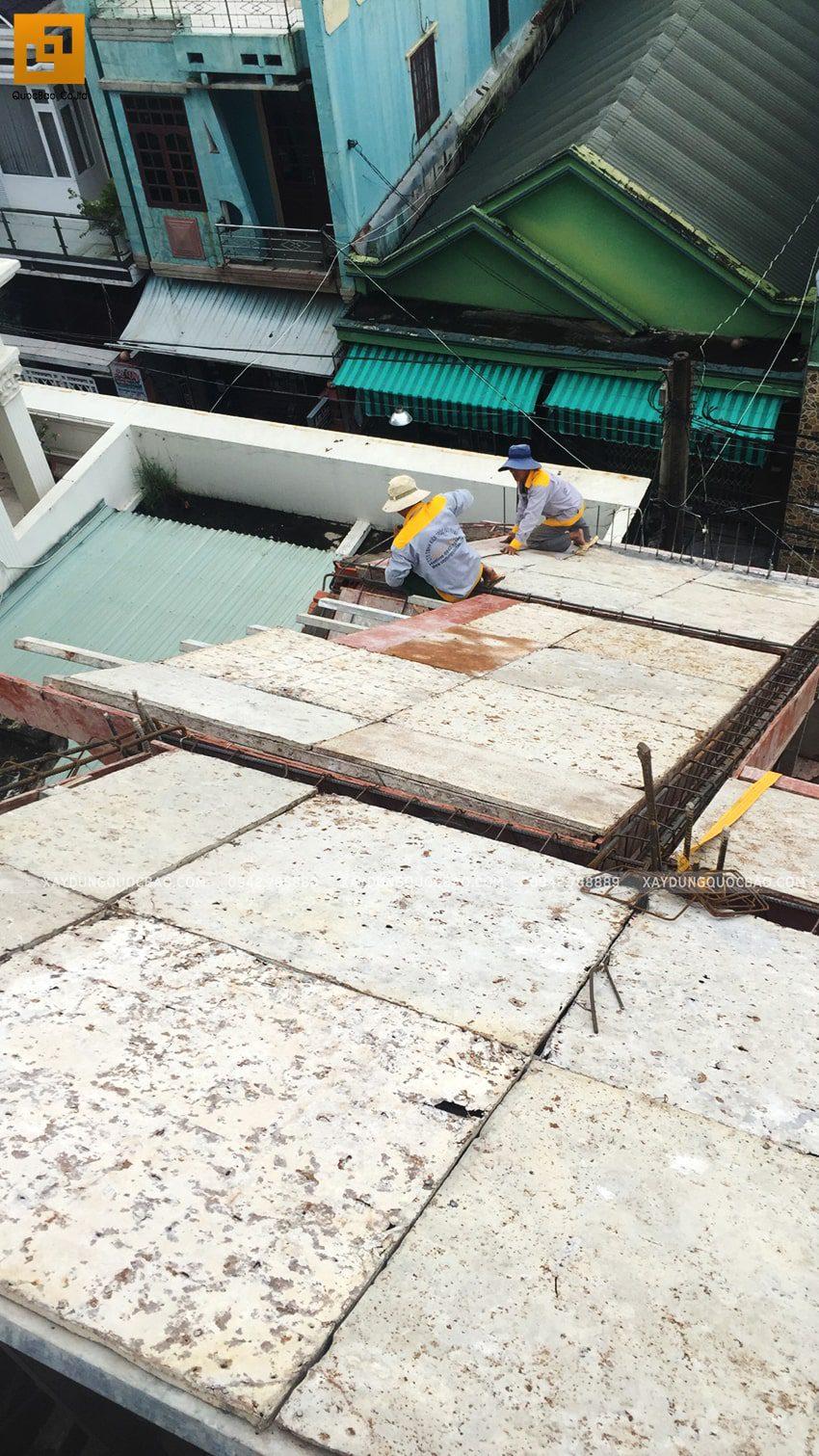Tiến độ thi công nhà 3 tầng tại Biên Hòa - Ảnh 1