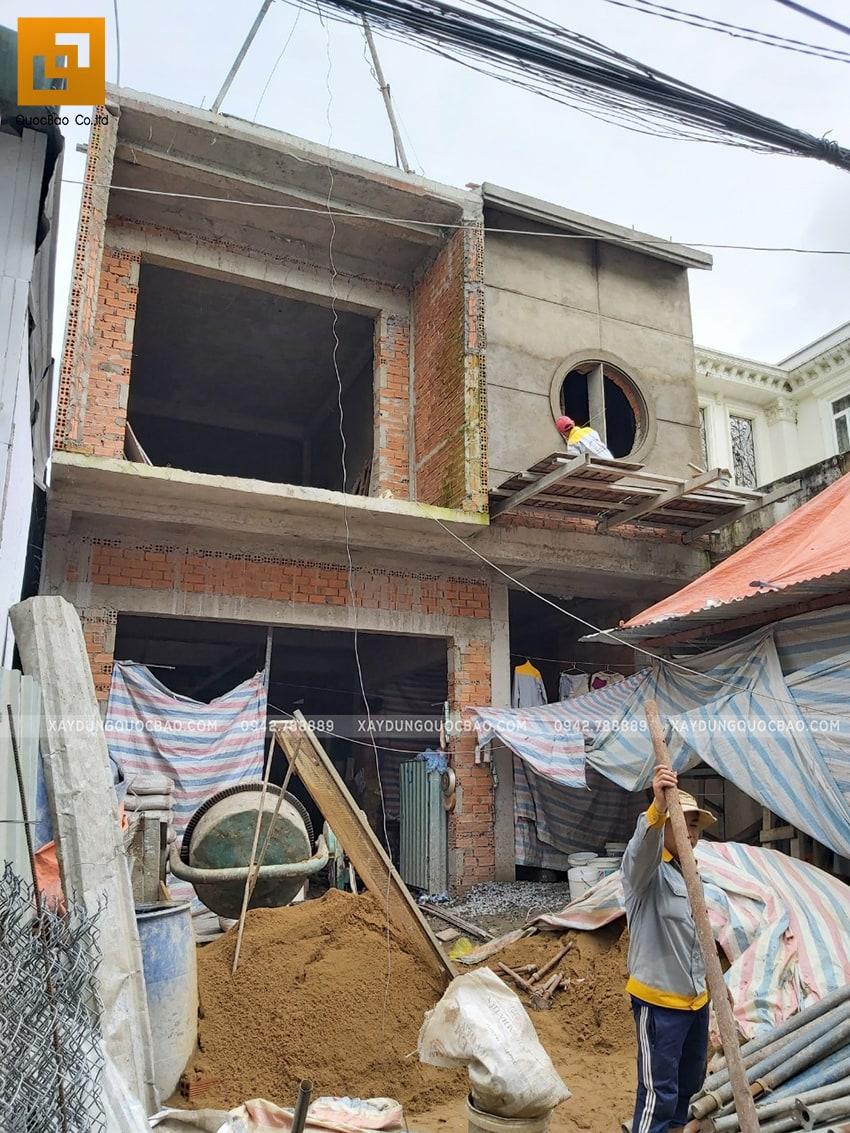 Tiến độ thi công nhà 3 tầng tại Biên Hòa - Ảnh 13