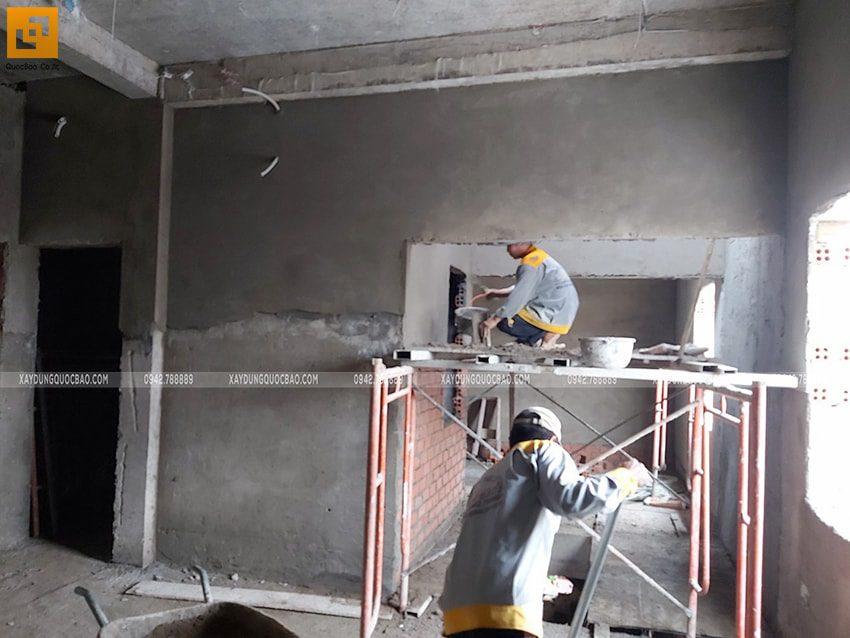 Tiến độ thi công nhà 3 tầng tại Biên Hòa - Ảnh 11