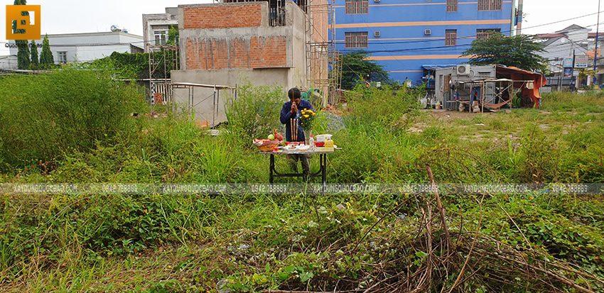 Khởi công nhà 3 tầng mặt tiền 5m của chị Thủy tại Biên Hòa - Ảnh 3