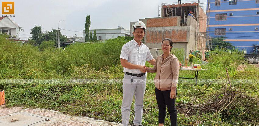 Khởi công nhà 3 tầng mặt tiền 5m của chị Thủy tại Biên Hòa - Ảnh 4