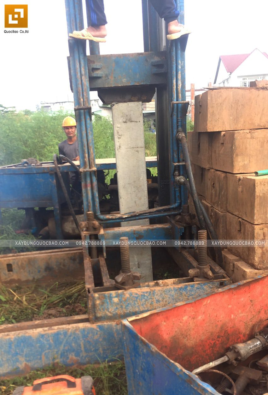 Khởi công nhà 3 tầng mặt tiền 5m của chị Thủy tại Biên Hòa - Ảnh 5