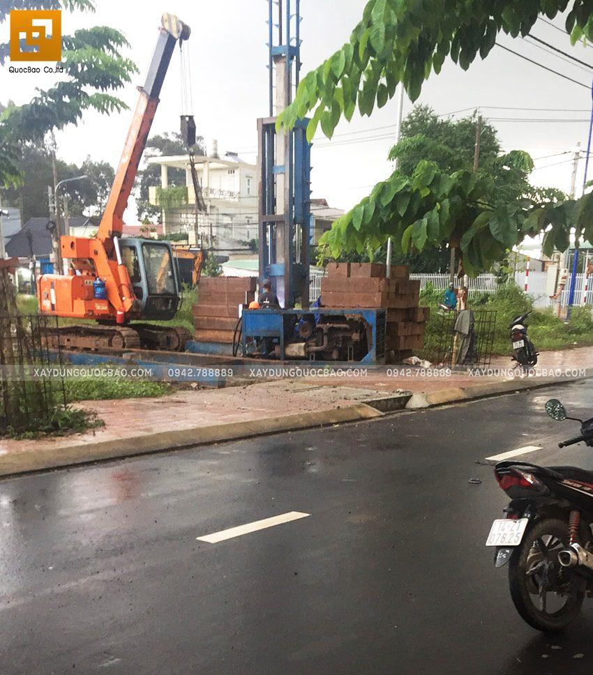 Khởi công nhà 3 tầng mặt tiền 5m của chị Thủy tại Biên Hòa - Ảnh 7
