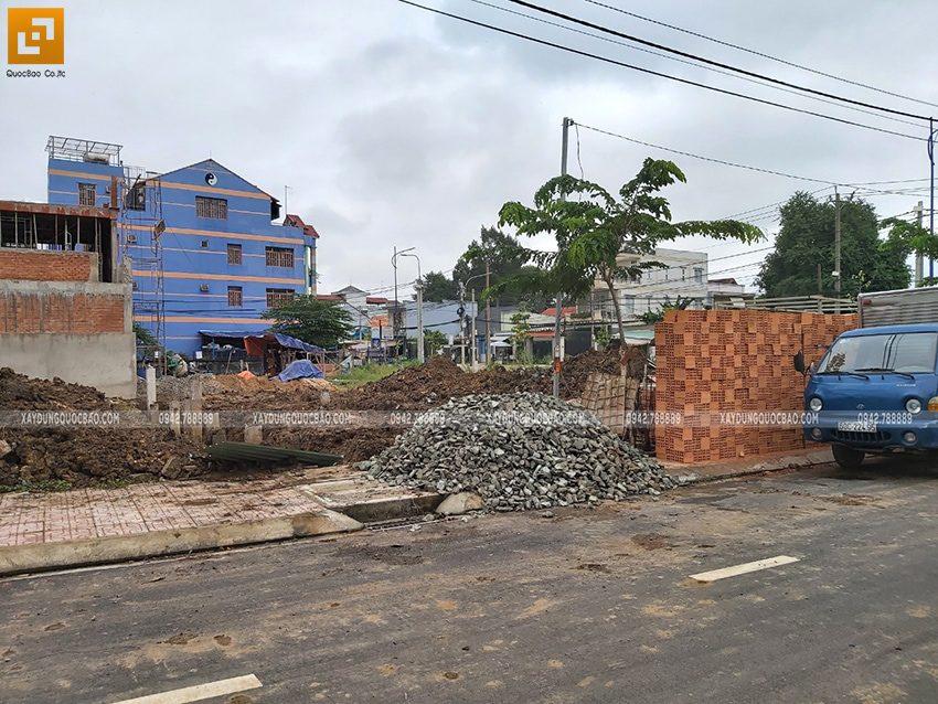Khởi công nhà 3 tầng mặt tiền 5m của chị Thủy tại Biên Hòa - Ảnh 9