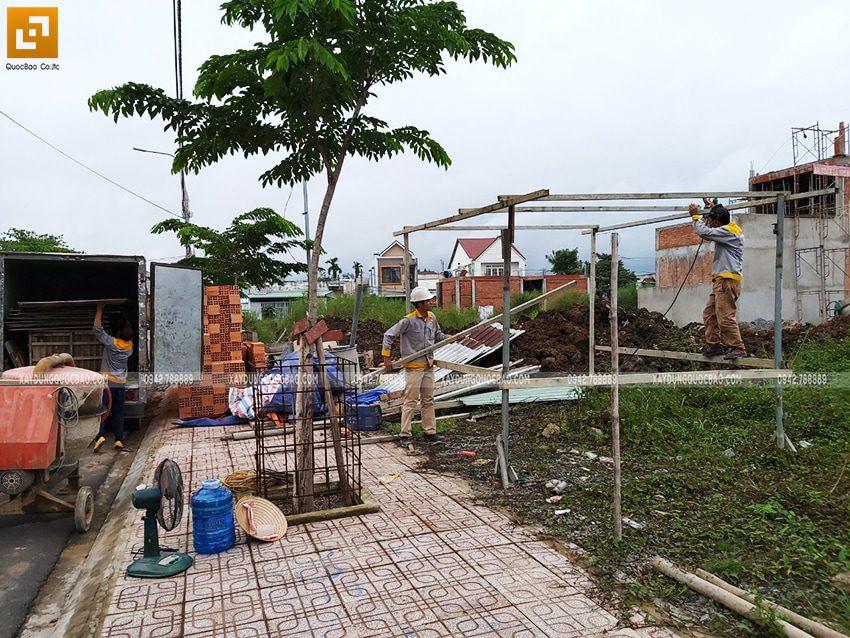 Khởi công nhà 3 tầng mặt tiền 5m của chị Thủy tại Biên Hòa - Ảnh 10
