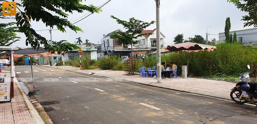 Khởi công nhà 3 tầng mặt tiền 5m của chị Thủy tại Biên Hòa - Ảnh 1